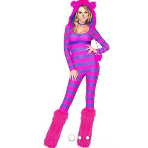 Cheshire Cat Halloween Costume Women's S/P. M/P